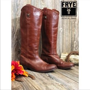 FRYE- WOMENS MELLISA BUTTON LUG TALL